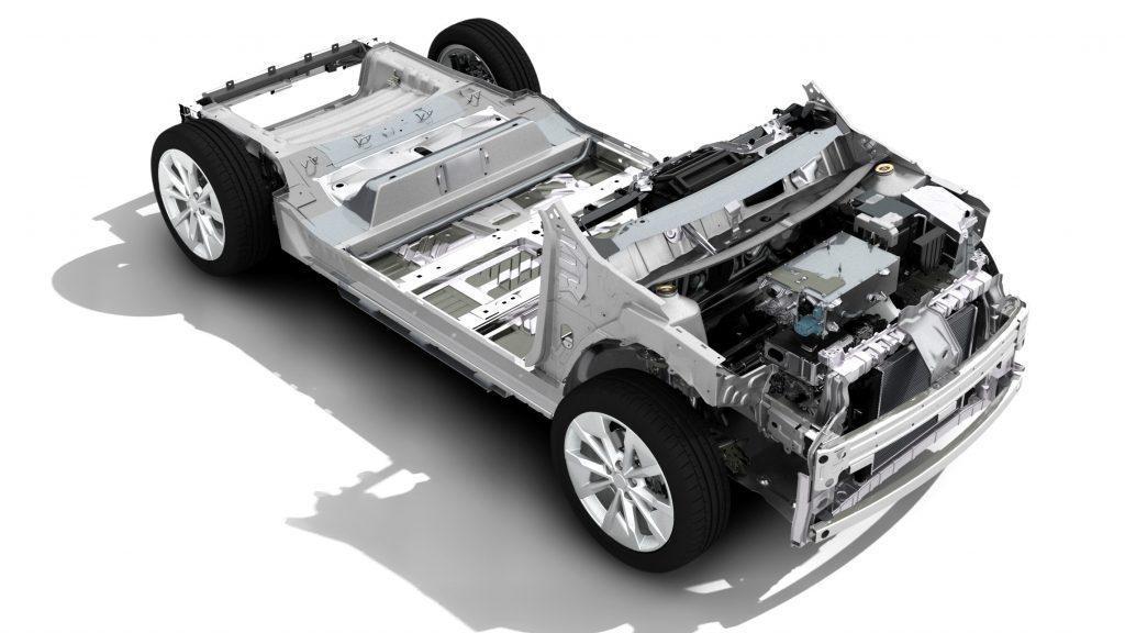 Piattaforma CMF-EV Renault Megane elettrica