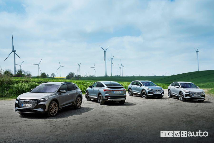 Audi solo elettriche a partire dal 2026