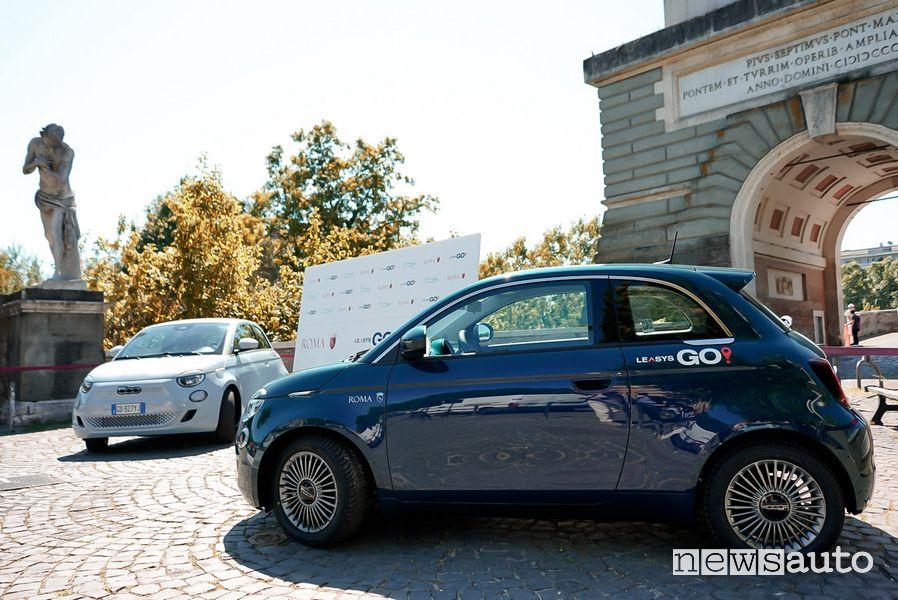 Car sharing elettrico a Roma LeasysGO!