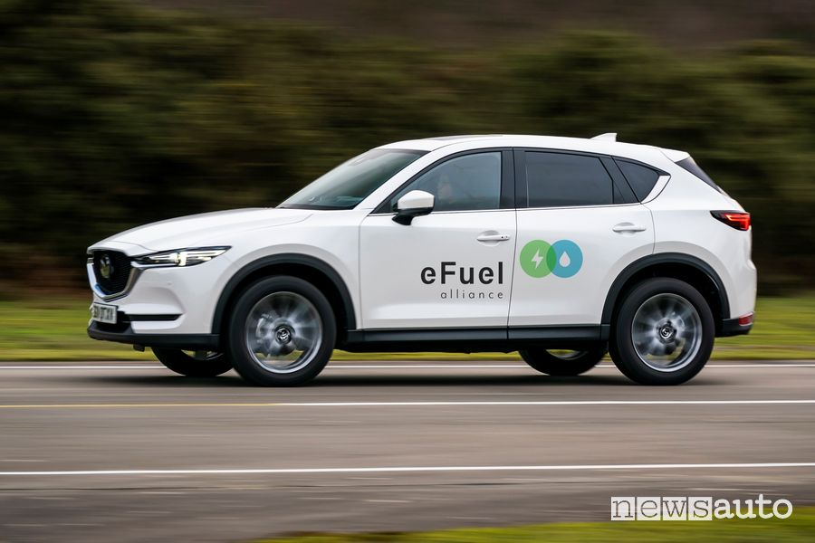 Carburanti sintetici e-fuel, che cosa sono? Mazda eFuel Alliance