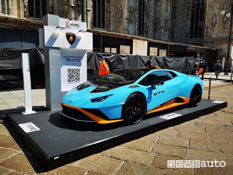 Lamborghini Huracàn STO al MIMO