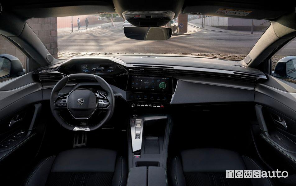 Plancia strumenti abitacolo nuova Peugeot 308 SW