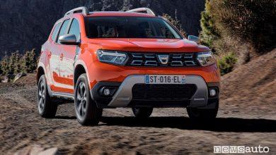 Plancia di profilo nuovo Dacia Duster sullo sterrato