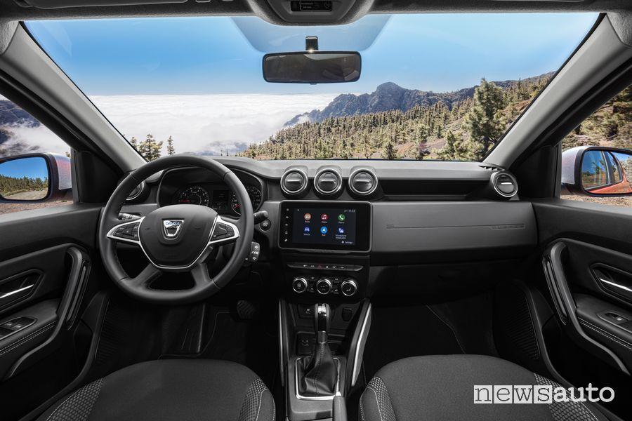 Plancia strumenti abitacolo nuovo Dacia Duster