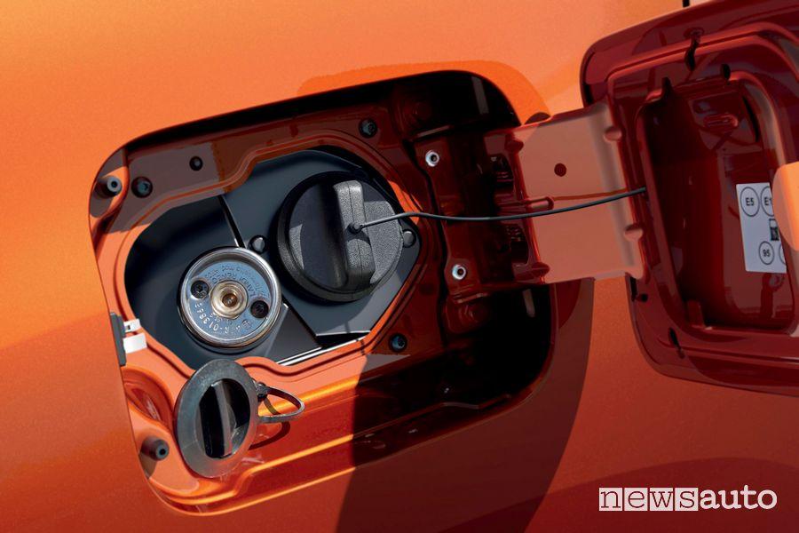 Bocchettone rifornimento GPL nuovo Dacia Duster