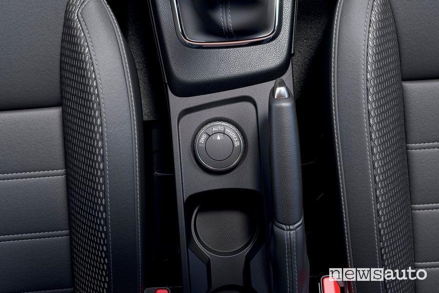 Comando 4x4 abitacolo nuovo Dacia Duster