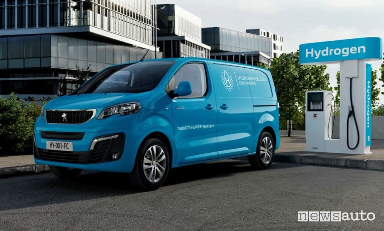 Peugeot e-Expert Hydrogen furgone ad idrogeno