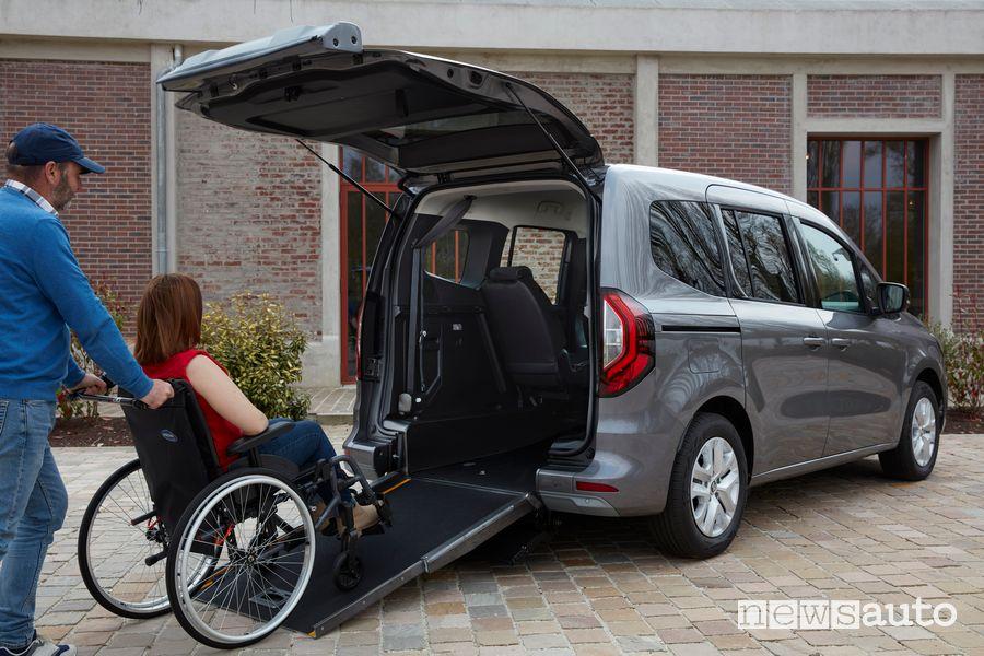 Renault Kangoo TPMR trasporto disabili in carrozzina