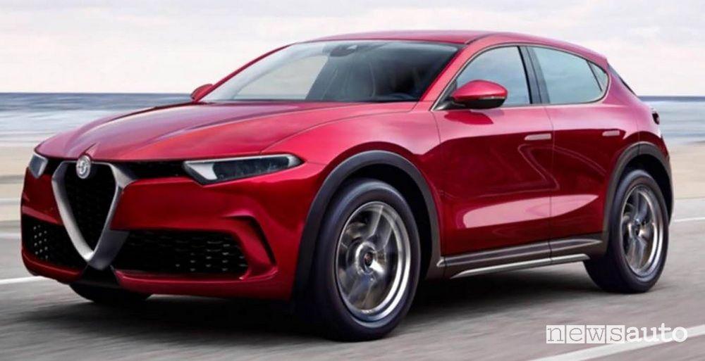 Alfa Romeo elettrica Palade