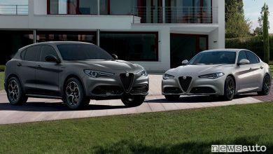Alfa Romeo Web Edition, serie speciale su Giulia e Stelvio