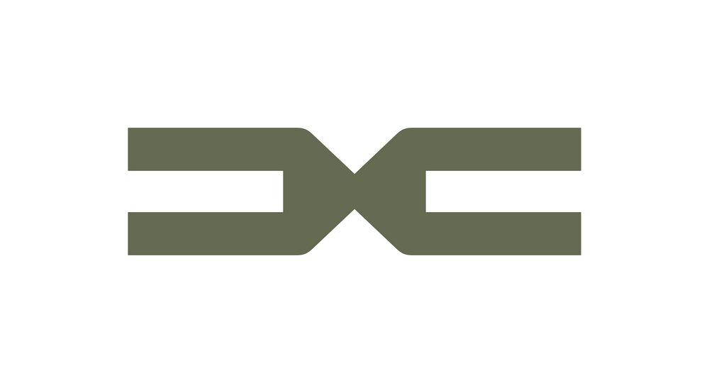 Nuovo simbolo, emblema di Dacia, che rappresenta l'incontro della D e della C
