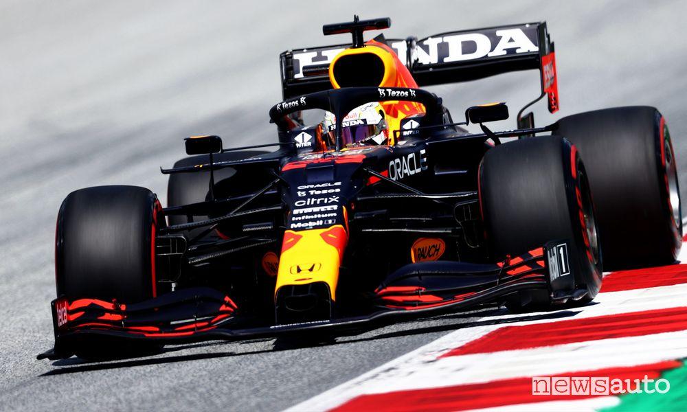 Qualifiche F1 Gp Stiria 2021 Austria, la griglia di partenza