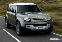 Land Rover Defender, sarà ad idrogeno, caratteristiche