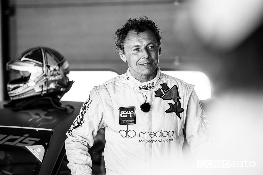 Mario Ferraris pilota dell'Alfa Romeo elettrica ETCR