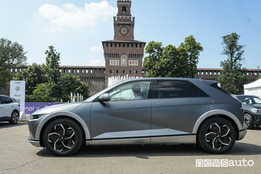 Nuova Hyundai Ioniq 5 a disposizione per i test drive al MiMO 2021