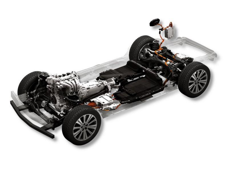 Piattaforma per auto ibride plug-in PHEV Mazda