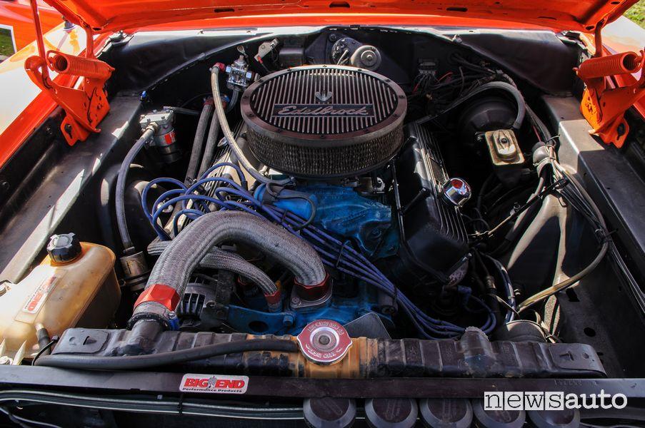 Vano motore Generale Lee Hazzard (Dodge Charger R/T Generale Lee)