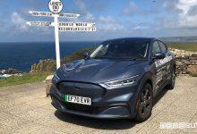 Record auto elettriche, miglior consumo energetico per la Ford Mustang Mach-E