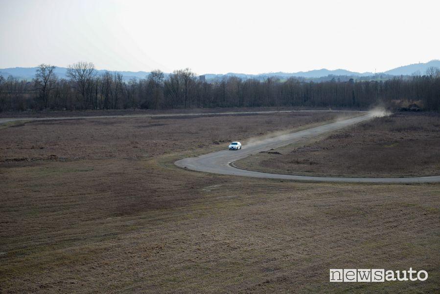 Giro di prova sul Circuito di Morano Po