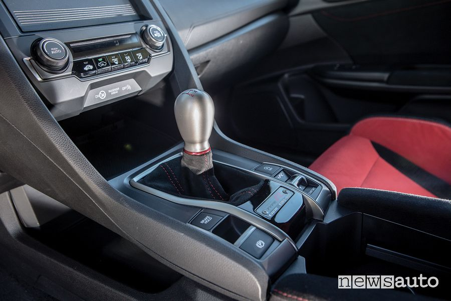 Leva cambio manuale abitacolo Honda Civic Type R Limited Edition