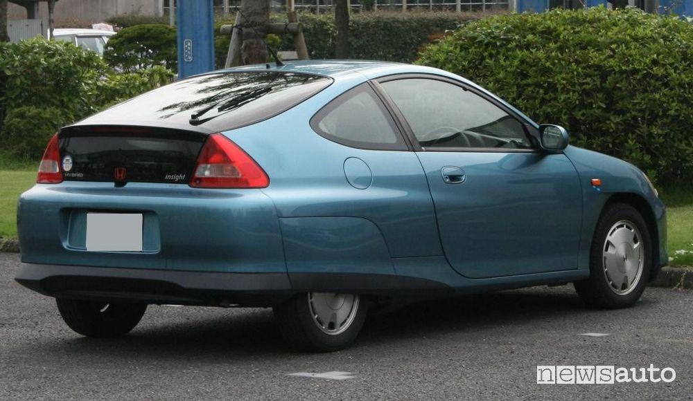 Honda Insight la prima auto ibrida
