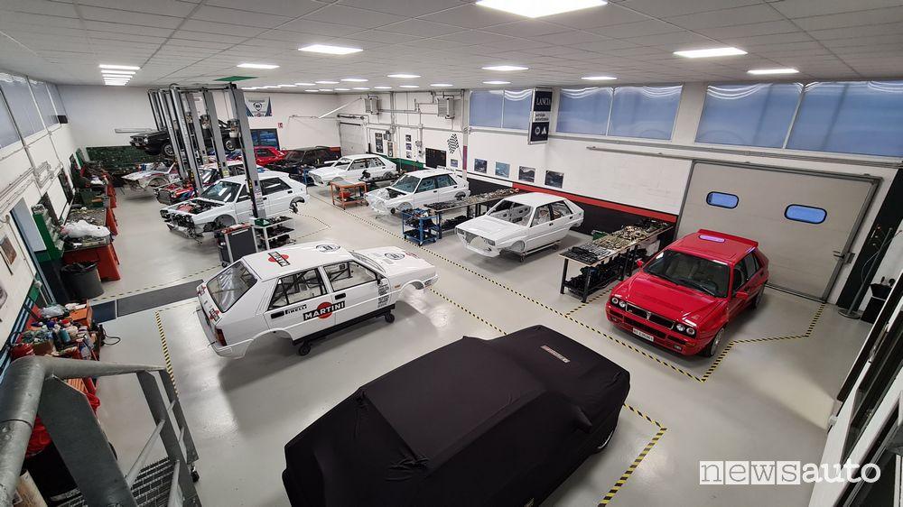 Lancia Delta EVO 3 Miki Biasion centro di restauro Italia Motor Sport