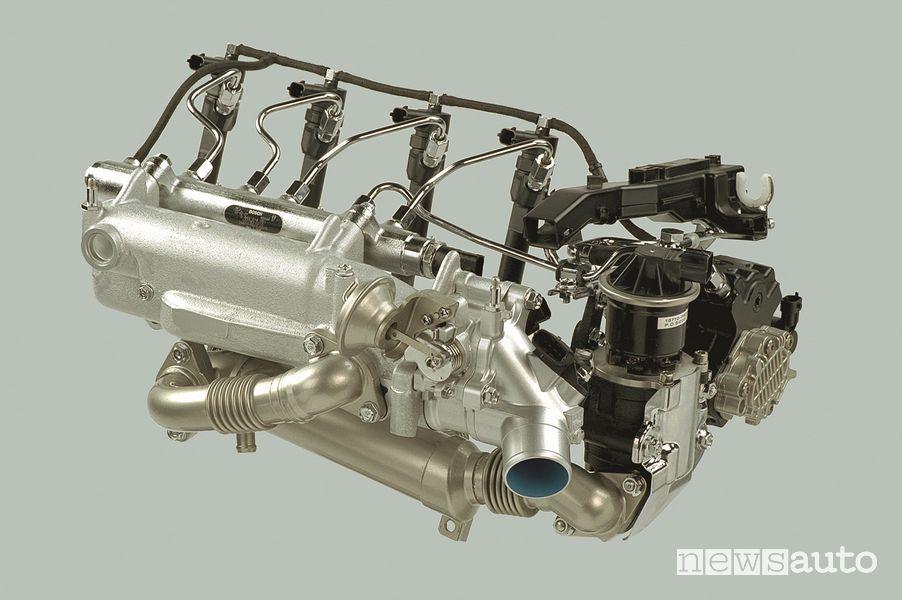 Impianto di alimentazione motore diesel Honda i-CTDi