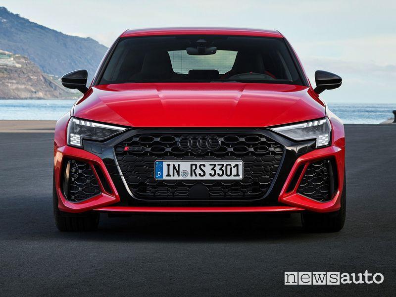 Frontale nuova Audi RS 3 Sportback