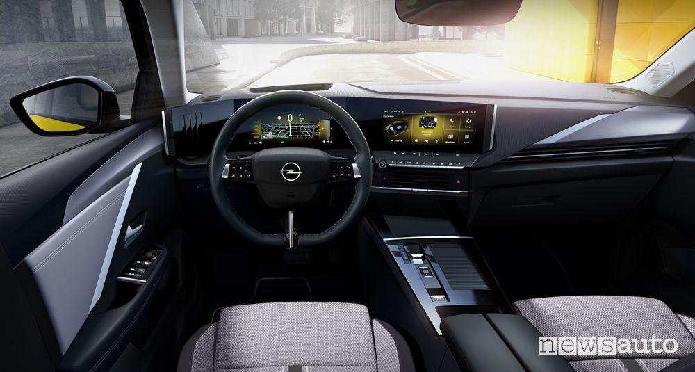 Plancia strumenti Pure Panel nuova Opel Astra