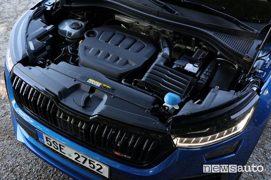 Vano motore nuovo Skoda Kodiaq RS
