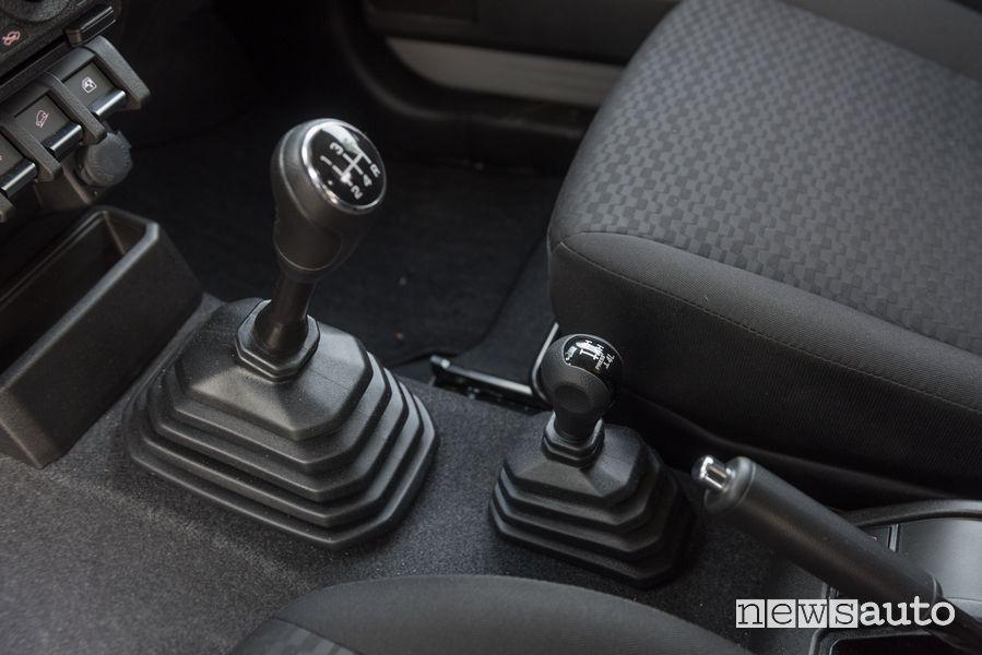 Leva cambio manuale abitacolo Suzuki Jimny PRO