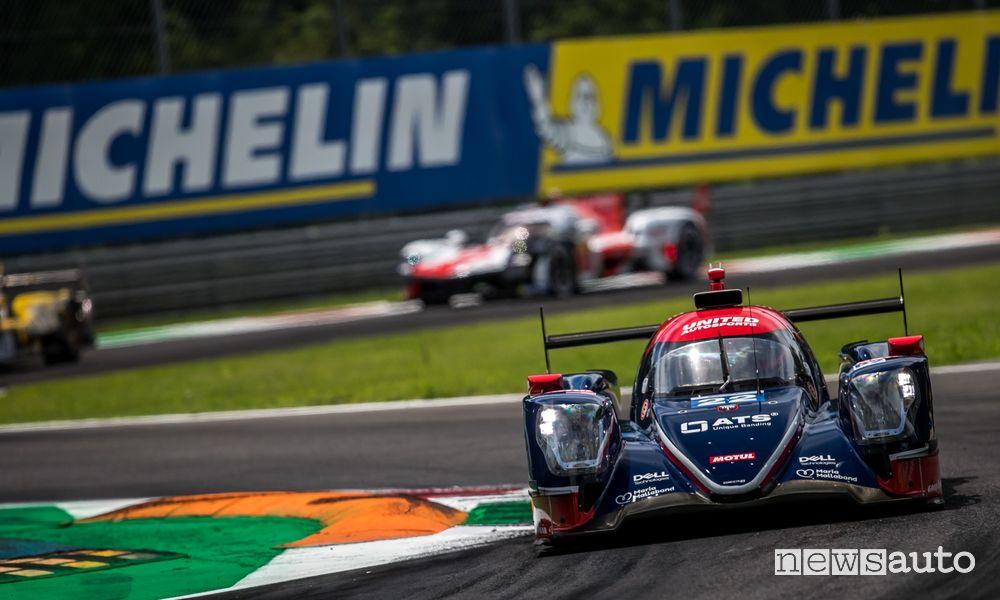 WEC 2021 Oreca 07 del team United Autosport vincitori in classe LMP2