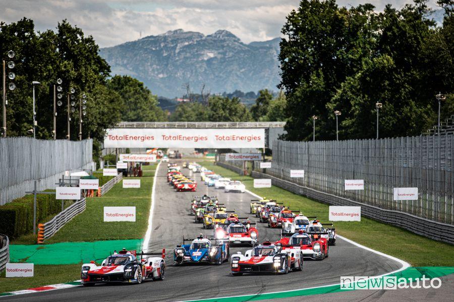 WEC 2021 partenza 6 Ore di Monza