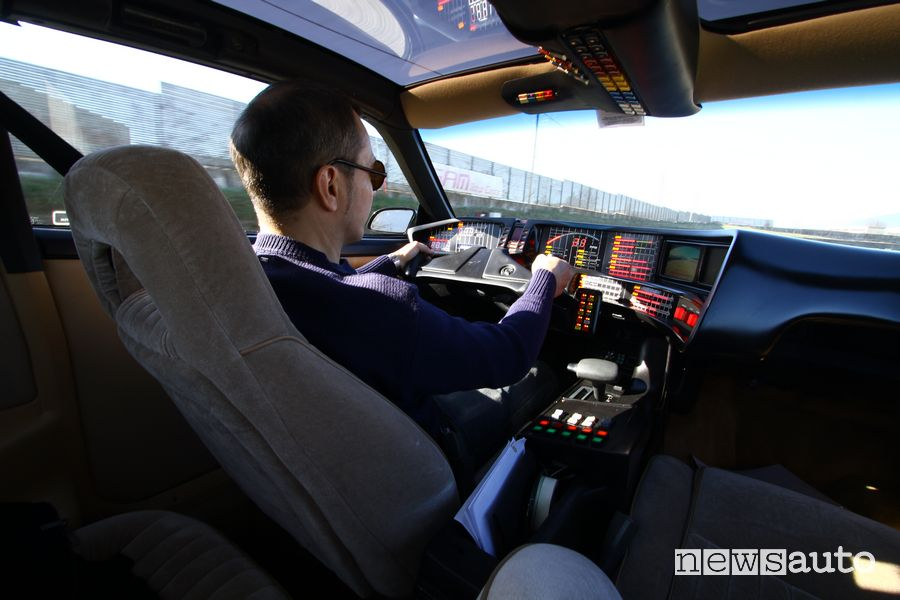 Alla guida di K.I.T.T. Supercar in pista