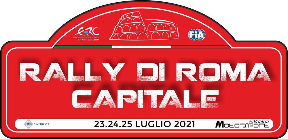 Logo ufficiale Rally di Roma Capitale 2021