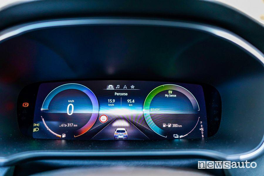 Cruscotto Renault Mégane E-Tech Plug-in Hybrid RS Line