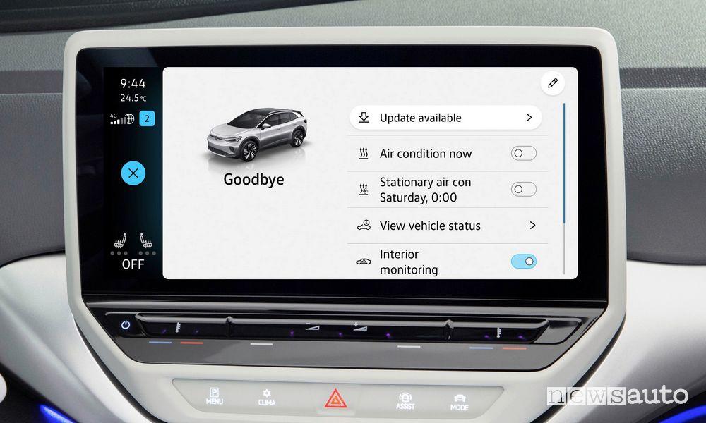 Come installare il nuovo aggiornamento software sulle Volkswagen elettriche?