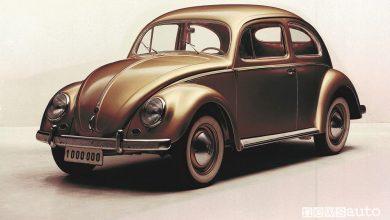 Volkswagen Maggiolino n.1.000.000 del 1955