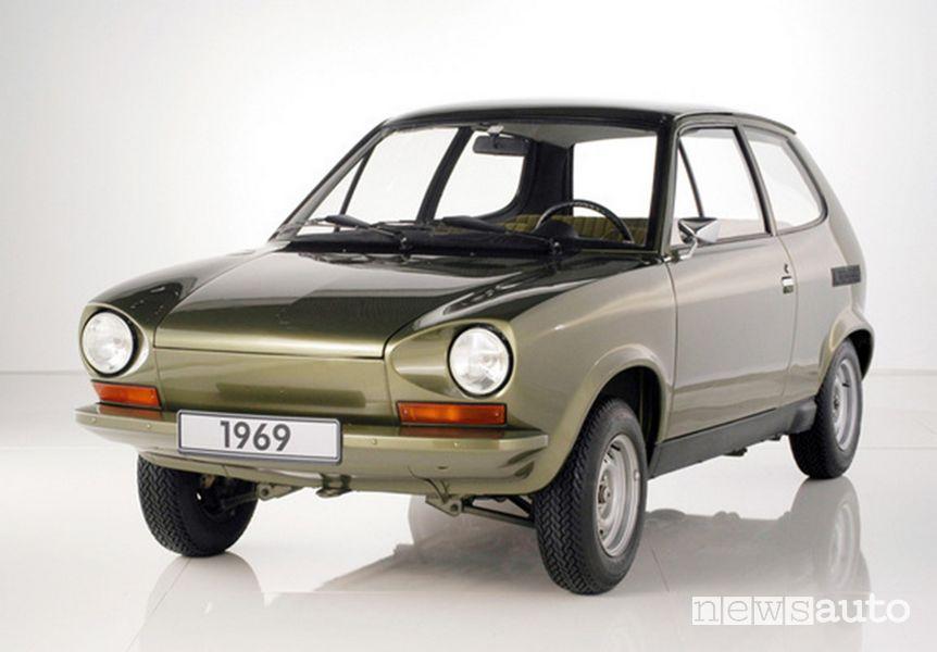 Volkswagen Maggiolino prototipo EA 266 1969