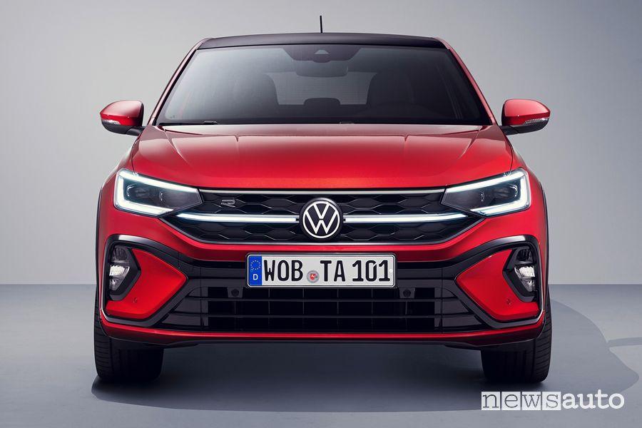 Frontale nuova Volkswagen Taigo R-Line