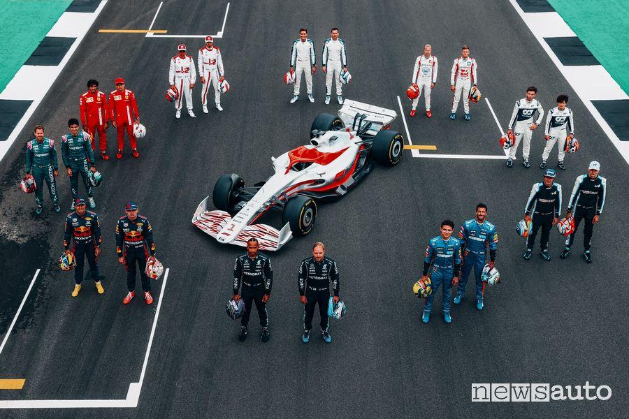 Nuove macchine F1 2022, cosa cambia