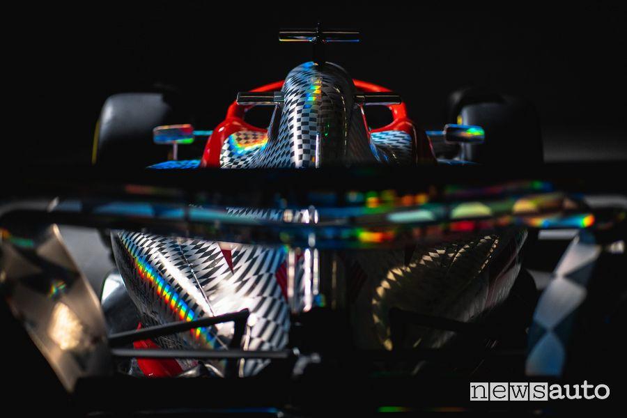 Ala posteriore della nuova monoposto F1 2022