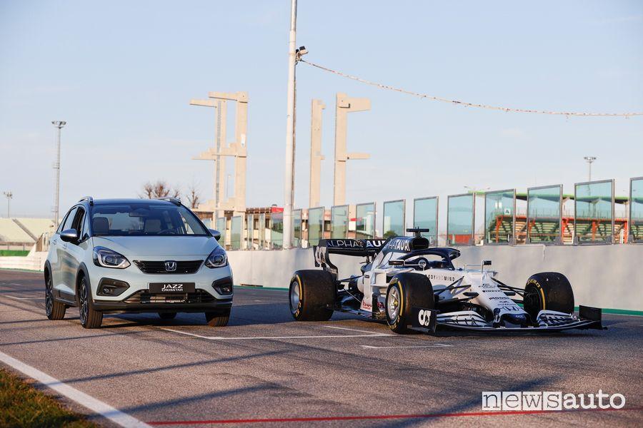Tecnologia Honda e:HEV è stata sviluppata in Formula 1