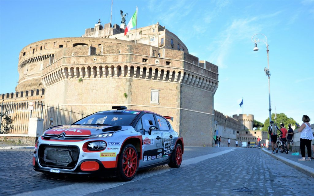 cerimonia Rally di Roma 2021 in programma a Castel Sant'Angelo