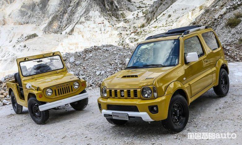 Suzuki, Jimny, la storia del fuoristrada 4×4 compatto