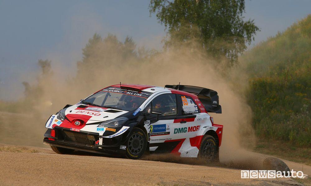 Kalle Rovanperä WRC 2021 Rally Estonia