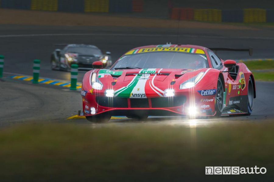 Ferrari ha vinto la 24 Ore di Le Mans 2021 nelle categorie LMGTE Pro e LMGTE Am