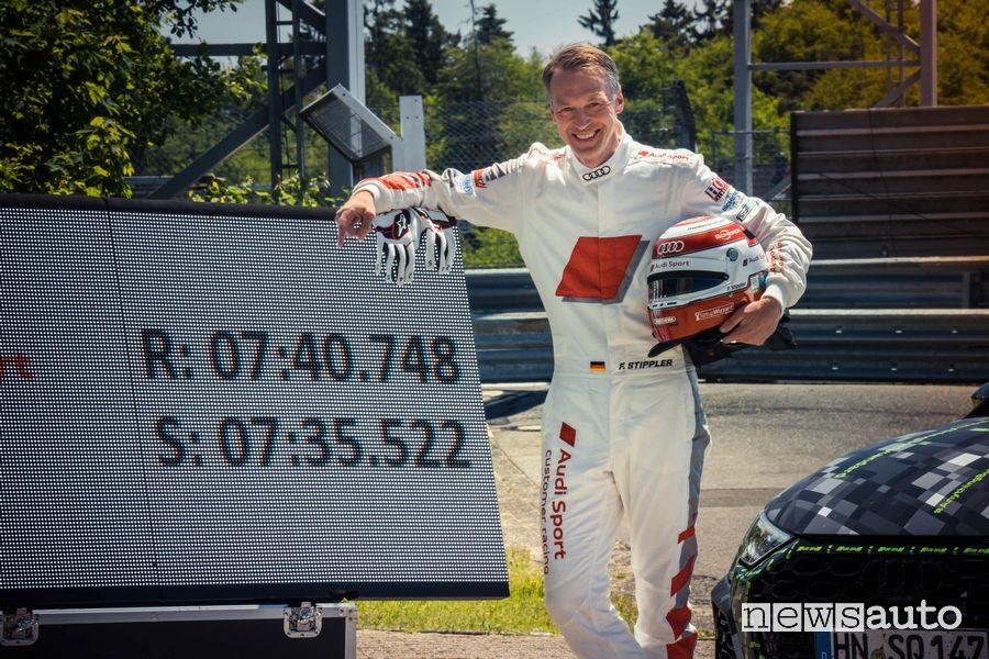 Record al Nürburgringper la nuova Audi RS 3