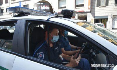 Assicurazione e revisione scaduta, controlli a Milano con Eagle eye
