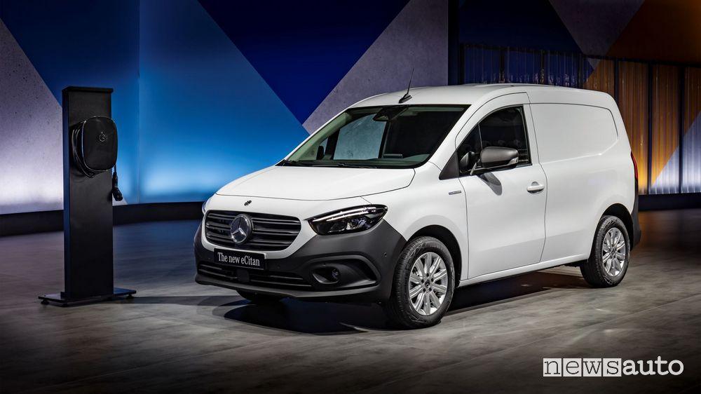 Presentazione nuovo Mercedes-Benz eCitan elettrico